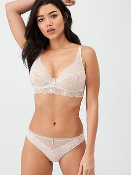 Freya Freya Expression Floral Lace Brief - Beige Picture