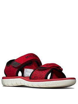 Clarks Clarks Boys Surfing Glove Sandal - Red Picture