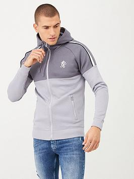 Gym King Gym King Crea Zipped Hoodie - Grey Picture