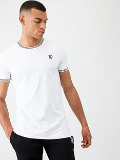 gym-king-core-tipped-t-shirt-white