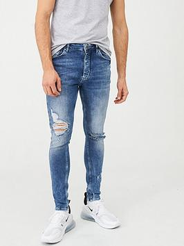 Gym King Gym King Anton Jeans - Blue Picture