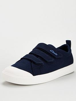 Clarks Clarks City Vibe Canvas Shoe Picture