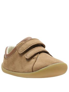 Clarks Clarks Roamer Craft First Shoes - Tan Picture