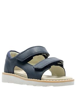 Clarks Clarks Toddler Boys Crown Root Sandal - Navy Picture