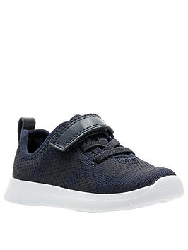 Clarks Clarks Ath Flux Toddler Trainers - Navy Picture