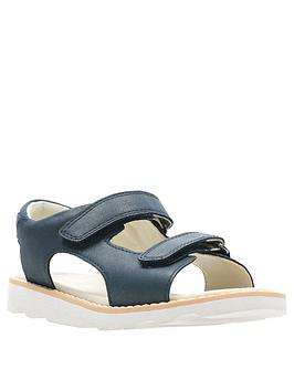 Clarks Clarks Boys Crown Root Sandal - Navy Picture