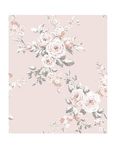 catherine-lansfield-canterbury-floral-wallpaper-ndash-pink