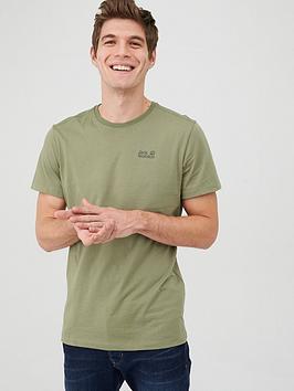 Jack Wolfskin Jack Wolfskin Organic Cotton T-Shirt - Khaki Picture