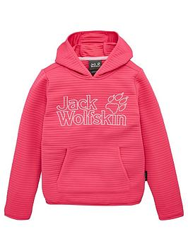 Jack Wolfskin Jack Wolfskin Girls Modesto Hoodie - Pink Picture