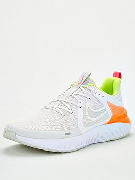 Nike Nike Legend React 2 - White/Orange Picture