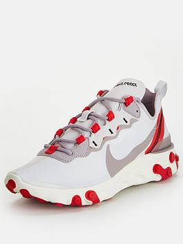 Nike Nike React Element 55 - Red/White Picture