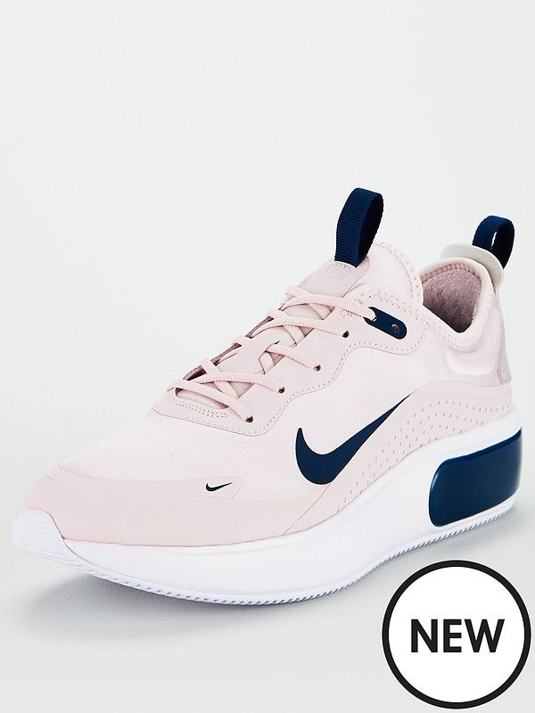 fotos oficiales seleccione para mejor gama completa de especificaciones Nike Air Max Dia - Pink/Blue/White | littlewoods.com