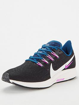 Nike Nike Air Zoom Pegasus 36 - Black/White/Blue Picture
