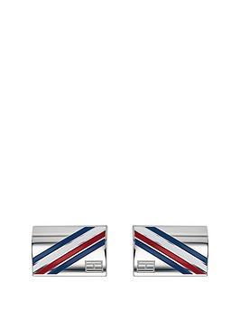 tommy-hilfiger-tommy-hilfiger-stainless-steel-logo-mens-cufflinks