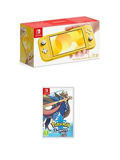 nintendo-switch-lite-console-with-pokemon-sword