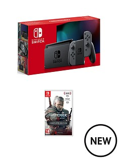 nintendo-switch-nintendo-switch-grey-console-improved-battery-with-the-witcher-3-wild-hunt-complete-edition