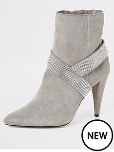 river-island-river-island-suede-embellished-cone-heel-boot-grey
