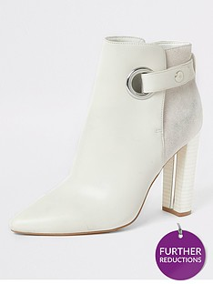 river-island-river-island-wide-fit-eyelet-detail-ankle-boot-white