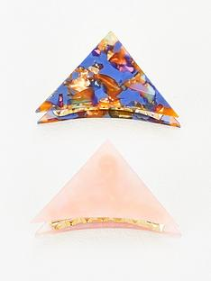 v-by-very-2-pack-resin-triangle-hair-grip-multi
