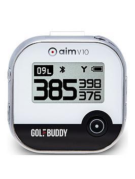GolfBuddy Golfbuddy Golf Buddy Aim V10 Talking Golf Gps Yardage System  ... Picture