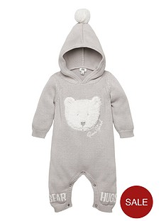 river-island-baby-baby-borg-bear-knitted-all-in-one-grey