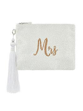 monsoon-marnie-mrs-embellished-bridal-zip-top-clutch-ivory