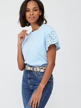 v-by-very-embroidered-short-sleeve-boxy-tee-sky-blue
