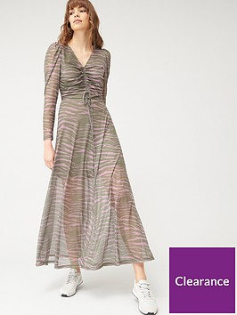 v-by-very-ruched-front-printed-mesh-midaxi-dress-zebra-print