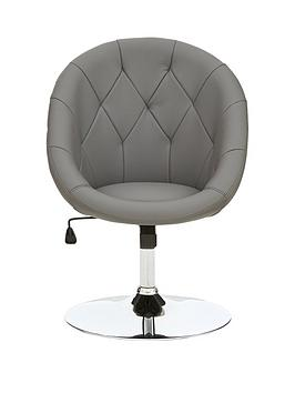 odyssey-faux-leather-leisure-chair-grey