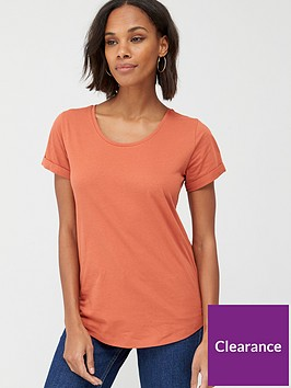 v-by-very-the-basic-scoop-neck-tee-rust