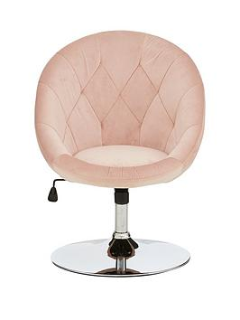 odyssey-velvet-leisure-chair-pink