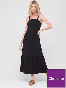 v-by-very-sleeveless-tiered-maxi-dress-black