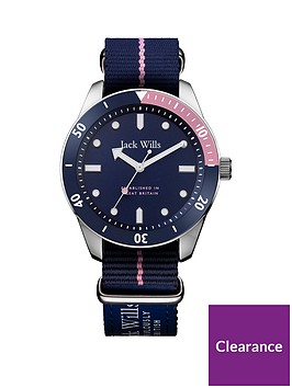 jack-wills-jack-wills-blue-and-pink-detail-dial-blue-nato-strap-ladies-watch