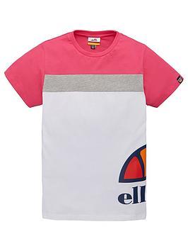 ellesse-older-girls-xelio-t-shirt-white