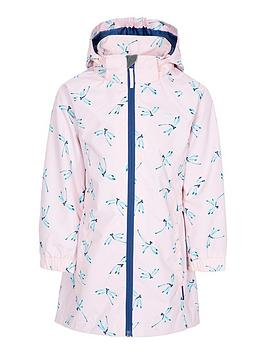 Trespass Trespass Girls Frejja Printed Jacket - Pink Picture