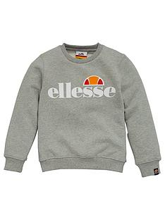 ellesse-younger-girls-siobhen-crew-neck-sweatshirt-grey