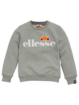 ellesse-younger-girls-siobhen-crew-neck-sweatshirt-grey
