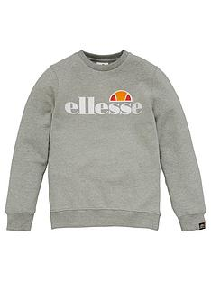 ellesse-older-girls-siobhen-crew-neck-sweatshirt-grey