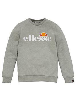 Ellesse Ellesse Older Girls Siobhen Crew Neck Sweatshirt - Grey Picture