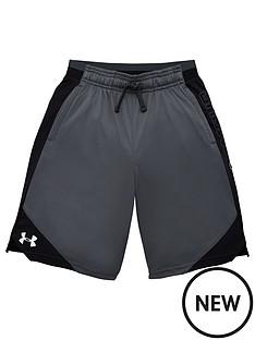 under-armour-childrens-stunt-20-shorts-greyblack