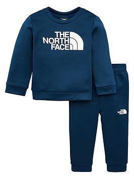 the-north-face-infant-boys-surgent-crew-set-navy