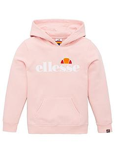 ellesse-older-girls-isobel-pullovernbsphoodie-pink