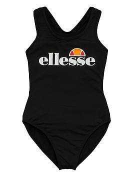 Ellesse Ellesse Older Girls Wilima Swimsuit - Black Picture