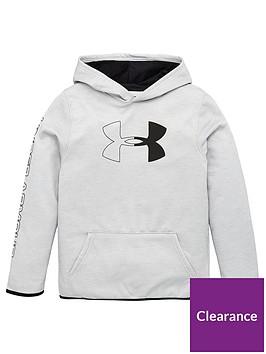under-armour-armour-fleecereg-branded-hoodie-grey