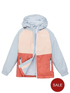 columbia-girls-dalby-springstrade-jacket-peach
