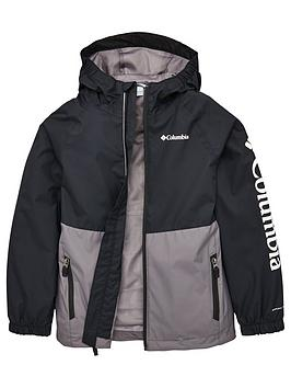 Columbia Columbia Boys Dalby Springs&Trade; Jacket - Black/Grey Picture