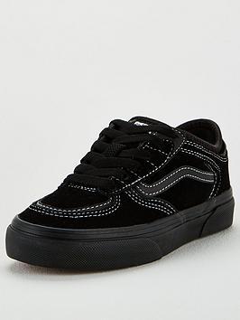 Vans Vans Childrens Rowley Classic - Black Black Picture