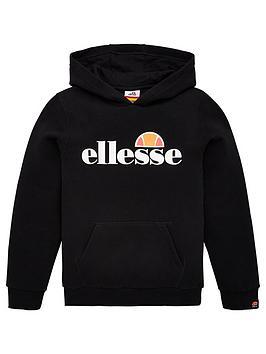 ellesse-older-boys-jero-pullovernbsphoodie-black