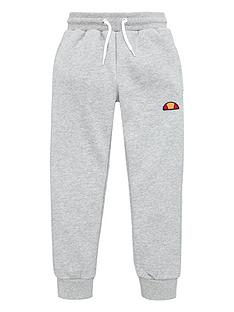 ellesse-younger-boys-colino-joggers-grey