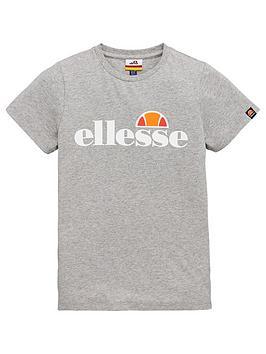 Ellesse Ellesse Older Boys Malia Short Sleeve T-Shirt - Grey Picture